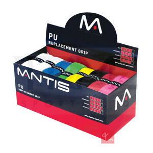 Mantis PU Replacement Grip 24 Grip Box - Assorted