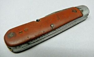 Model 1908 Soldier Swiss Army Knife by Forges de Vallorbe  L & Co