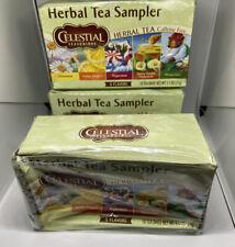 Celestial Seasonings Herbal Tea Sampler Tea 3 Pack Dented Boxes