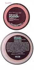 MAYBELLINE Mineral Power Naturally Luminous Blush # ORIGINAL ROSE II
