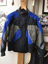 A Nice Shoei Textile Motorcycle Biker Jacket. Size S