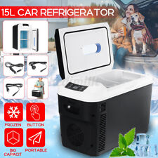 Home RANSOTO 19 Quart Boat 18 Liter Fridge Freezer Portable Refrigerator with 12//24 V DC and 100-240 AC Electric Car Cooler Compressor Refrigerator for Vehicle