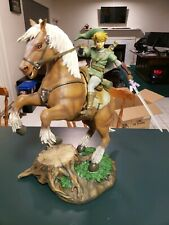 Link on Epona Twilight Princess Statue by First 4 Figures F4F Legend of Zelda