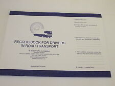 10 Log Books (for use by Drivers exempt from tachograph regulations)HGV/PSV