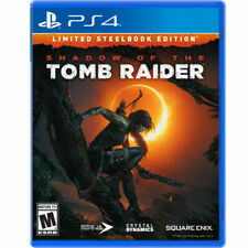 Shadow of the Tomb Raider Limited Steelbook Edition for PlayStation 4