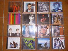 CD  MUSICA  POP ROCK ARTISTI GRUPPI STRANIERI  OTTIME CONDIZIONI !!