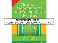 Strategic Management and Competitive Advantage : Concepts by William S. Heste...