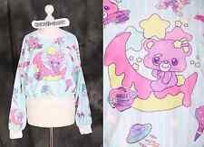 T-504 Blau Blue Lolita Jumper Sweatshirt Bear Cute Harajuku Japanese Fashion
