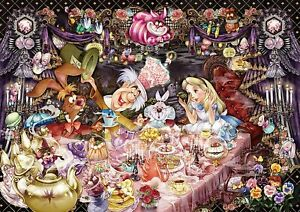 Tenyo 1000 Piece Jigsaw Puzzle Alice in Wonderland A Dream Tea Party That Never