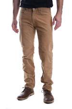 Jeans da uomo beige regolare taglia L
