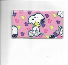 CHECKBOOK ID DEBIT CREDIT CARD COVER PINK PANTHER RETRO