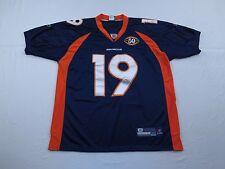 Eddie Royal Denver Broncos SEWN Jersey Size 50 50th Anniversary NFL Football