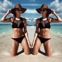 Women's NEW Bandage Bikini Set Push-up Padded Bra Swimsuit Bathing Suit Swimwear
