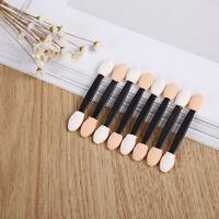 10*Make Up Brush Eye Shadow Sponge Applicators Double Ended Disposable Popular