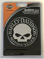 Harley-Davidson Injection Molded Plastic Willie G Skull Emblem NEW