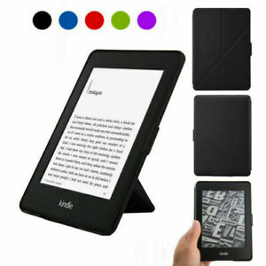 """ROC® Origami Flip Leather Case Cover for 6.0"""" Kindle Paperwhite 2018 Release."""