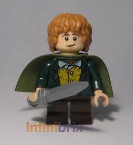 Lego Merry Minifigure (Alternative Head + Hair Colour) Lord of the Rings cus111