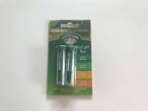Garden Essentials Soil pH testing kit - 2 test pack