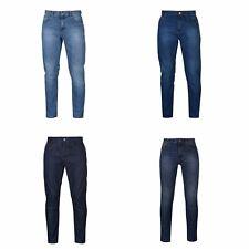 Jeans Denim Lee Cooper Slim Leg Mens Trouser Pants