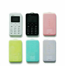 Original Ultra mince Mini AEKU C6 téléphones portables Version étudiante
