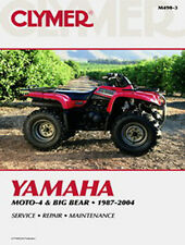 YAMAHA MOTO-4 350ER, BIG BEAR, 350 & 400 SHOP, REPAIR MANUAL BOOK M490-3