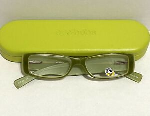 """Eyebobs Readers +1.50 Style: 2278 """"No Holes Barred"""" Rectangle. New with case."""