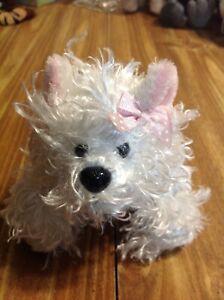 ganz webkinz plush white terrier
