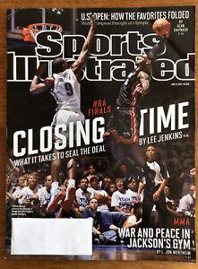 Sports Illustrated, June 25, 2012, NBA Finals, LeBron Vs Ibaka