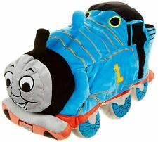 Thomas the Train Shaped Toddler Kids Bedtime Naptime Cuddle Pillow Polyester