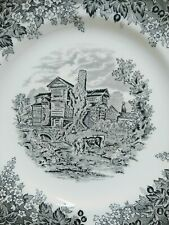 Romantic England Moreton Old Hall Collector's Plate Wedgewood Queen's Ware