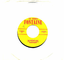 MFD IN CANADA 1960s FRENCH POP 45 RPM MARCEL ROMAIN : QUE PREFEREZ VOUS