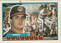 FREE SHIPPING-MINT-1989 Topps #68 Greg Swindell Cleveland Indians +BONUS CARDS