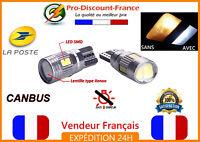 2 x ampoule LED T10 W5W 5630 BLANC XENON CANBUS ANTI ERREUR veilleuse VOITURE