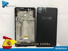 CARCASA INTERMEDIO BQ E5 4G + TAPA TRASERA COLOR NEGRA ENVIO RAPIDO DESDE ESPAÑA