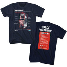 Space Invaders Vintage Taito Arcade Game Men's T Shirt Alien Upright Cabinet Top