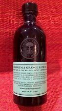 Neal's Yard Remedies Geranium & Orange Bath Oil 100g / 3.38oz