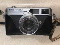 Vintage Bell & Howell Canon Canonet 19 Camera 45mm 1:1.9 Lens Untested For Parts