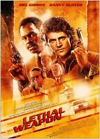 Lethal Weapon Classic Movie Poster Art Print A1 A2 A3 A4 Maxi