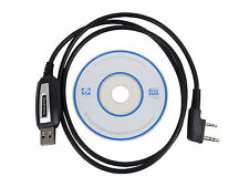 USB Programming Cable + CD for Baofeng UV-5R 888S Two Way Radio Walkie Talkie KY