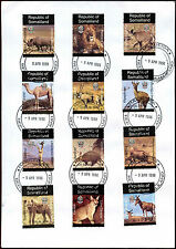 Somaliland 1998Wild Animals Cover #C35411