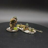 Well Painted 28mm Bolt Action Soviet Infantry AT rifle team Ww2 Warlord Games