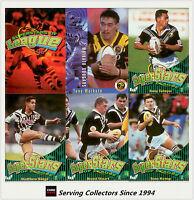 1996 NZ Rugby League Card Superstar Of League Base Card Set (90)