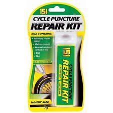 Vulcanising Solution Crayon Cycle Bike Inner Tube Tyre Puncture Repair Kit New