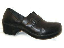 Dansko Professional Clog Shoes Women's 8.5 - 9 / EUR 39 Black Leather