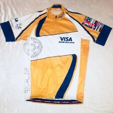 Jakroo Cycling Jersey VISA Miami Velo club United Nations Flags Small Full  Zip df65033d5