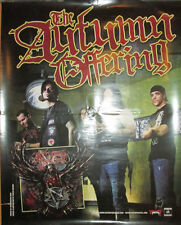 Autumn Offering, Victory Records promotional poster, 2010, 18x24, Vg+, metal