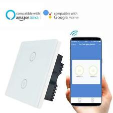 Knaclean SMART WIFI Touch Switch no Hub requise Via APP ewelink Wireless 2 Gang