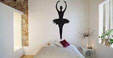 Wall Room Decor Art Vinyl Sticker Mural Decal Ballet Dance Women Ballerina FI347