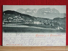 Fotokarte - Kitzbühel mit Kaisergebirge - gel 1901 - Tirol