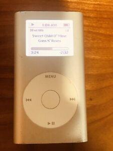 Apple iPod Mini 2nd Generation 4GB Silver A1051 M9800LL